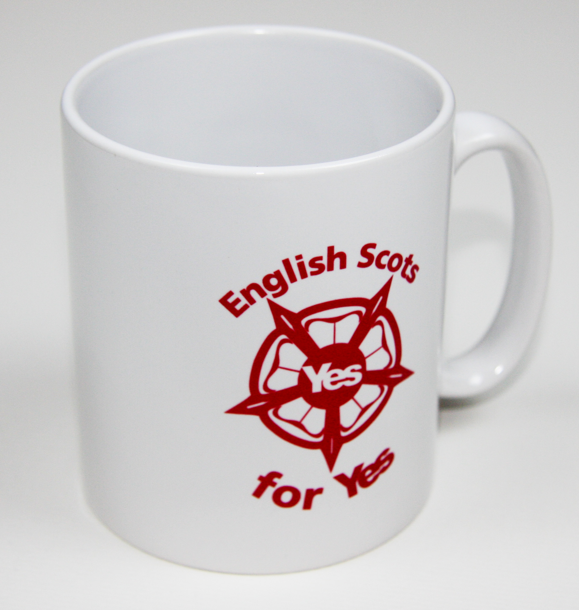 English Scots for Yes mug