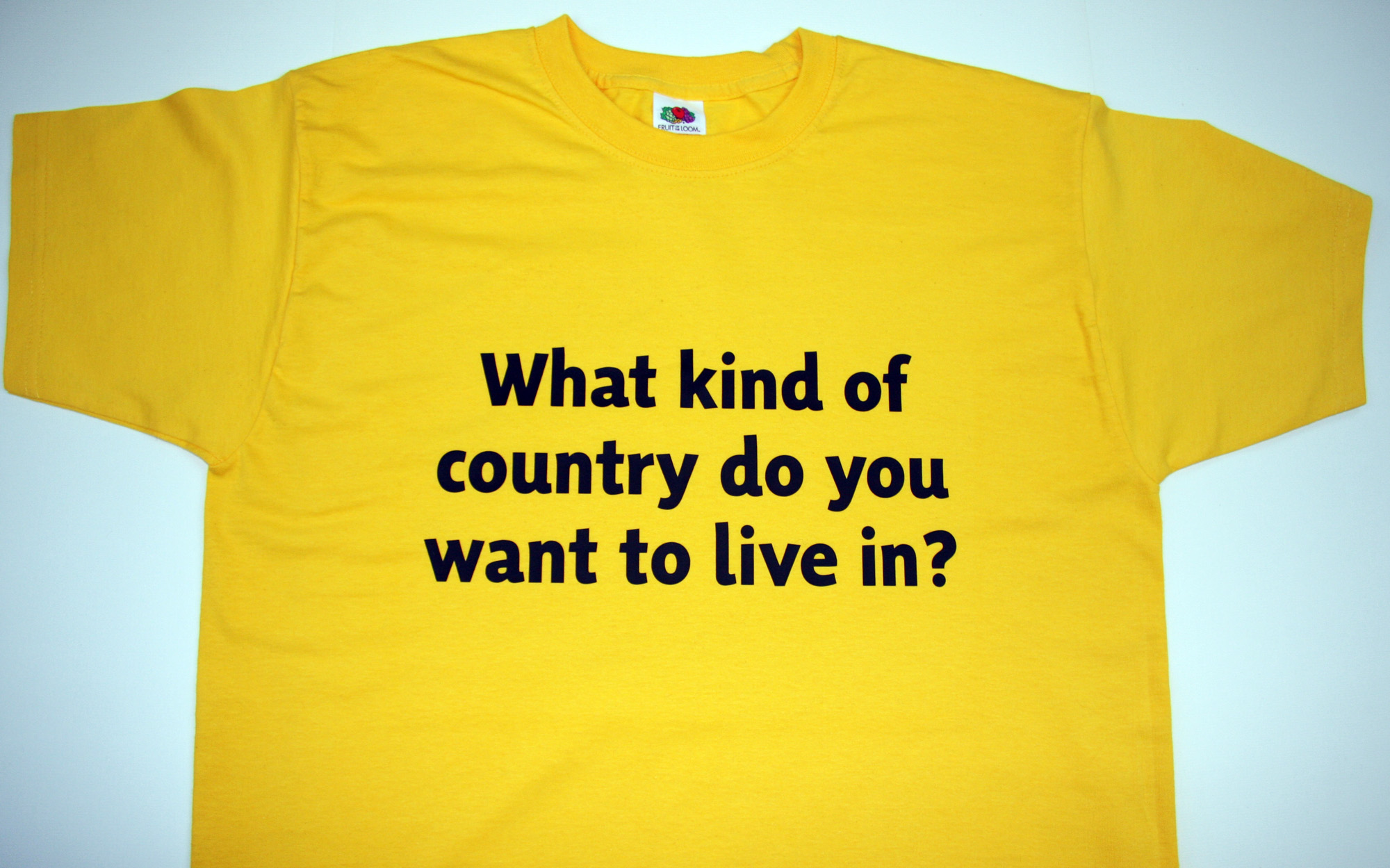 What kind of country T-shirt