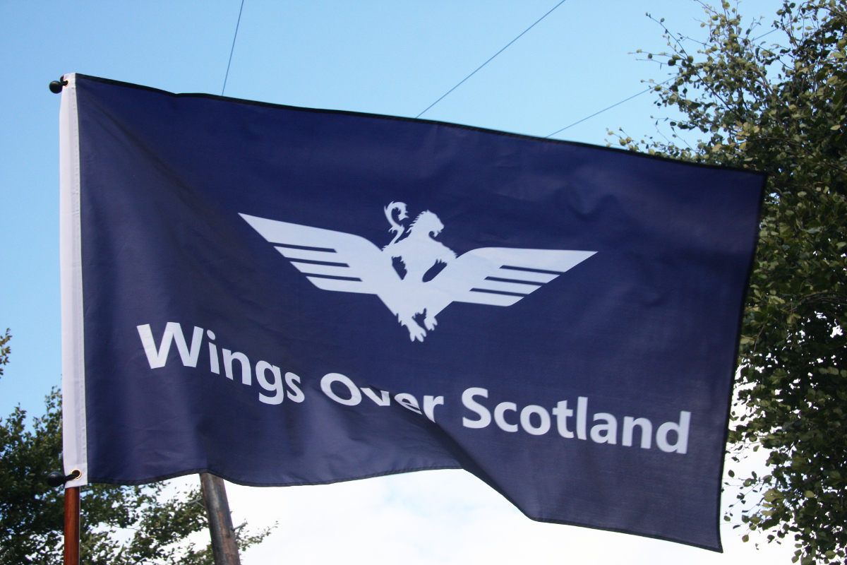 Wings Over Scotland flag